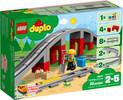 LEGO LEGO 10872 Les rails et le pont du train 673419284004
