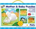Galt Toys Casse-tête 16x4 mamans et bébés animaux de compagnie 5011979579461