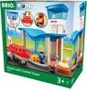 BRIO Train en bois BRIO Terminal aéroport et tour de contrôle BRIO 33883 7312350338836
