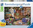 Ravensburger Casse-tête 500 Large Le grenier 4005556148691