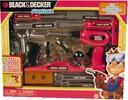 JAKKS Pacific Black & Decker Outils, 20 pièces 045672584922