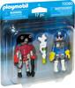 Playmobil Playmobil 70080 Duo Policier de l'espace et robot 4008789700803