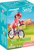 Playmobil Playmobil 70124 Spirit Maricela et bicyclette 4008789701244