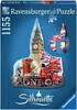 Ravensburger Casse-tête 1152 silhouette Big Ben, Londres, Royaume-Uni 4005556161553