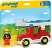 Playmobil Playmobil 6967 1.2.3 Camion de pompiers avec échelle pivotante 4008789069672