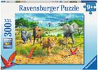 Ravensburger Casse-tête 300 XXL Bébés animaux d'Afrique 4005556132195