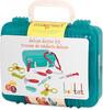 Battat Mallette de médecin, turquoise (Deluxe Doctor Kit) 062243334502