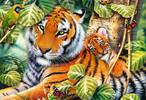 Trefl Casse-tête 1500 deux tigres 5900511261592