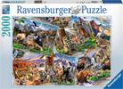 Ravensburger Casse-tête 2000 Cartes postales de parcs nationaux, États-Unis 4005556166978