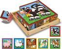 Melissa & Doug Casse-tête cubes 16 scènes de ferme en bois Melissa & Doug 775 000772107754