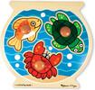 Melissa & Doug Casse-tête gros boutons aquarium en bois Melissa & Doug 2056 000772120562