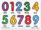 Melissa & Doug Casse-tête boutons nombre sous les chiffres en bois anglais Melissa & Doug 3273 000772132732