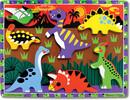 Melissa & Doug Casse-tête grosses pièces dinosaures en bois Melissa & Doug 3747 000772137478