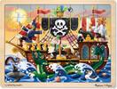 Melissa & Doug Casse-tête 48 aventure de pirates en bois Melissa & Doug 3800 000772138000