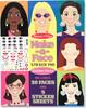 Melissa & Doug Bloc d'autocollants créer des visages à la mode Melissa & Doug 4195 000772141956