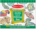 Melissa & Doug Bloc à colorier d'animaux jumbo Melissa & Doug 4200 000772142007