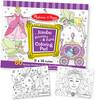Melissa & Doug Bloc à colorier jumbo aux motifs princesse et fée Melissa & Doug 4263 000772142632