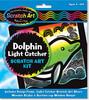 Melissa & Doug Cartes à gratter Scratch Art attrape-lumière dauphin (cartes à gratter) Melissa & Doug 5890 000772058902