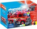 Playmobil Playmobil 5682 Camion de pompier avec échelle (ancien 5980) (juin 2016) 4008789056825