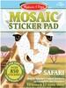 Melissa & Doug Mosaïque autocollants numérotés (décoller-appuyer) animaux safari Melissa & Doug 30160 000772301602