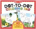 Melissa & Doug Bloc à colorier à numéros point à point animaux de la ferme Melissa & Doug 30260 000772302609