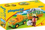 Playmobil Playmobil 70182 1.2.3 Vétérinaire avec véhicule et rhinocéros 4008789701824