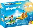 Playmobil Playmobil 9163 Motomarine et bateau gonflable 4008789091635