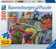 Ravensburger Casse-tête 300 Large Vélos arc-en-ciel 4005556149957