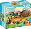 Playmobil Playmobil 9477 Spirit Jim et charrette 4008789094773