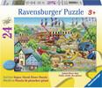Ravensburger Casse-tête plancher 24 Bâtiment en construction 4005556054275