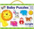 Galt Toys Casse-tête 2x6 bébé animaux de la jungle 5011979526434