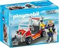 Playmobil Playmobil 5398 Chef des pompiers avec voiturette 4008789053985