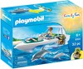 Playmobil Playmobil 9164 Plongée sous-marine en bateau 4008789091642