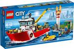 LEGO LEGO 60109 City Le bateau des pompiers (jan 2016) 673419247894