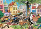 Jumbo Casse-tête 1000 Jan van Haasteren - Attrapez-moi ce chat ! 8710126190562
