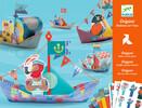 Djeco Origami bateaux sur l'eau (fr/en) 3070900087798