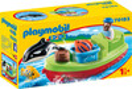Playmobil Playmobil 70183 1.2.3 Bateau et pêcheur 4008789701831