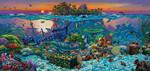 SunsOut Casse-tête 1000 L'Île aux coraux (Coral Reef Island) 20121 796780201217