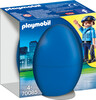 Playmobil Playmobil 70085 Oeuf Policier avec chien 4008789700858