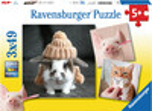 Ravensburger Casse-tête 49x3 Portait d'animaux 4005556080281