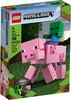 LEGO LEGO 21157 Minecraft Bigfigurine cochon et bébé zombie 673419319010