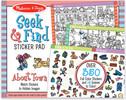 Melissa & Doug Bloc d'autocollants et scènes à colorier ville cherche et trouve (Seek & Find) Melissa & Doug 30150 000772301503