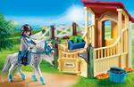 Playmobil Playmobil 6935 Box avec cavalière et cheval Appaloosa 4008789069351