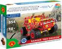 Constructor Constructor Camion ranger hors route, 354 pièces en métal 5906018012712