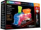 Laser Pegs - briques illuminées Laser Pegs junior train 3 en 1 (briques illuminées) 810690020338