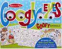 Melissa & Doug Bloc à colorier yeux et animaux humoristiques Melissa & Doug 5165 000772151658