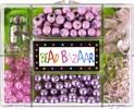 Bead Bazaar Perles bouquet pétales de rose 633870009332