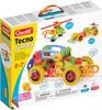 Quercetti Tecno Jumbo Ensemble véhicules 76pcs Quercetti 6155 8007905061558