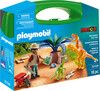 Playmobil Playmobil 70108 Mallette transportable Explorateur et dinosaures 4008789701084