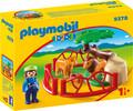 Playmobil Playmobil 9378 1.2.3 Lions et enclos 4008789093783